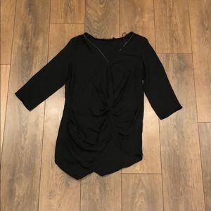 Zara Basic Black Shirt Size US S